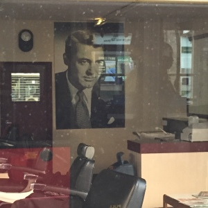 Timeless Style Icon - Cary Grant's photo in a barbershop in South West London