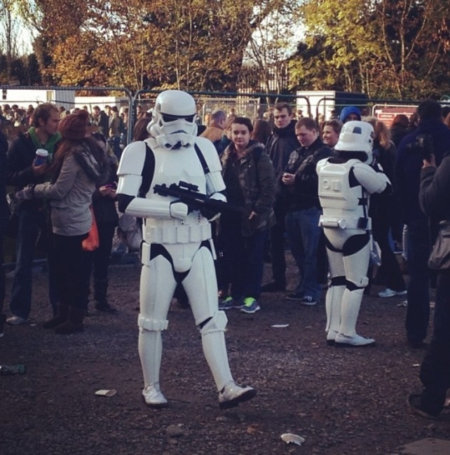 Auditions for the new Star Wars in London 2013